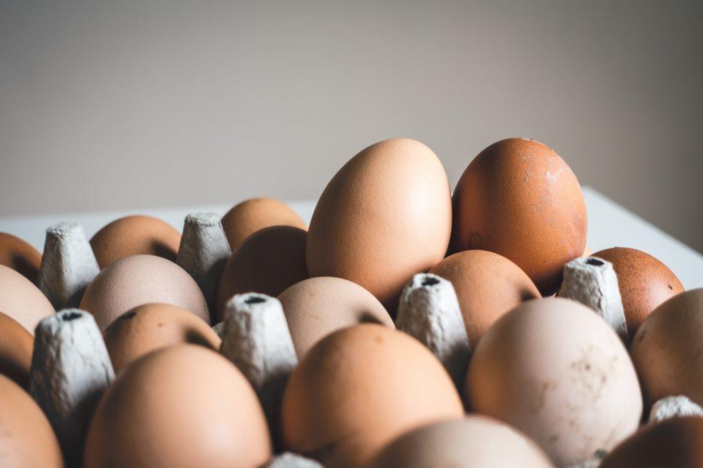 Kennollinen kananmunia