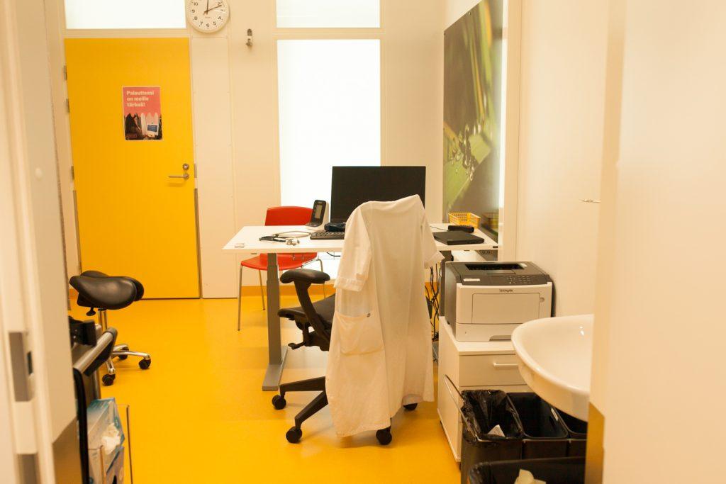 Lääkärin työhuone