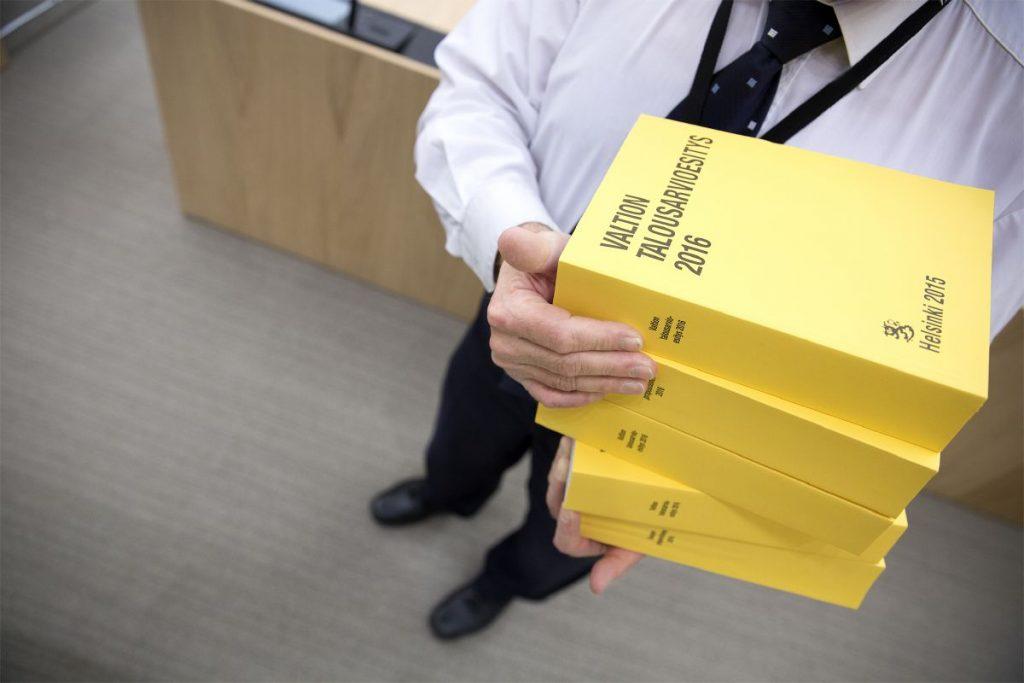 Pino hallituksen ehdotuksia vuoden 2016 budjetiksi